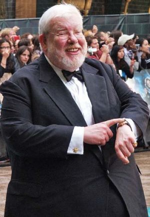 'A joy' to work with: Daniel Radcliffe pays tribute to Richard Griffiths (pictured).