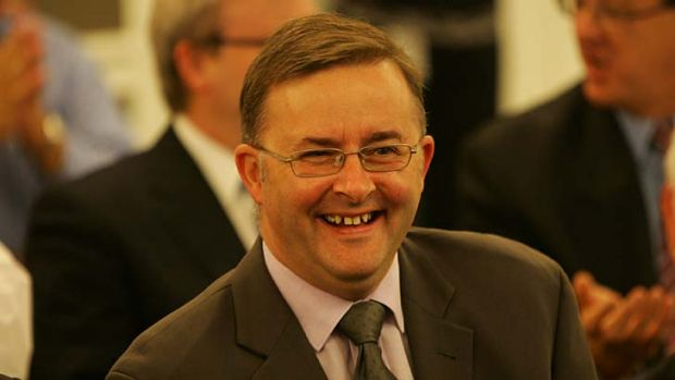Ambitions for new airport: Anthony Albanese.