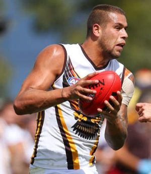 Lance Franklin of the Hawks is a free agent at the end of the year.