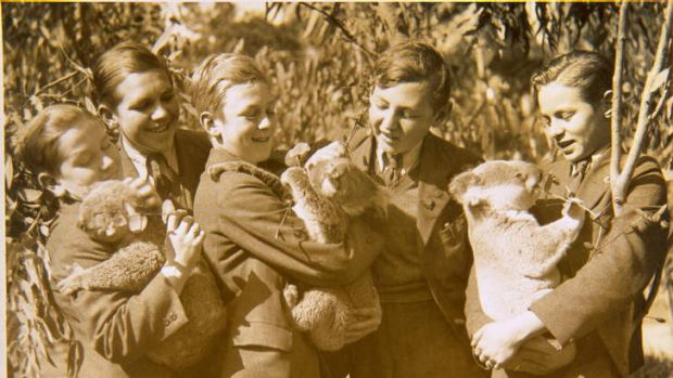 The Vienna boys in 1939 in Adelaide.