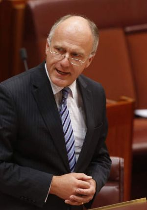 Opposition employment and workplace relations spokesman, Eric Abetz.
