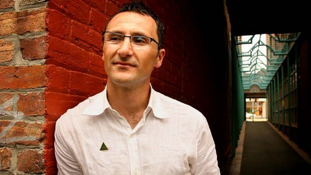 """Concerned: Senator Richard Di Natale wants the federal government to """"clamp down"""" on overseas gambling operators."""