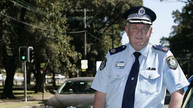 No let up: John Hartley, NSW Police Traffic Services Commander.