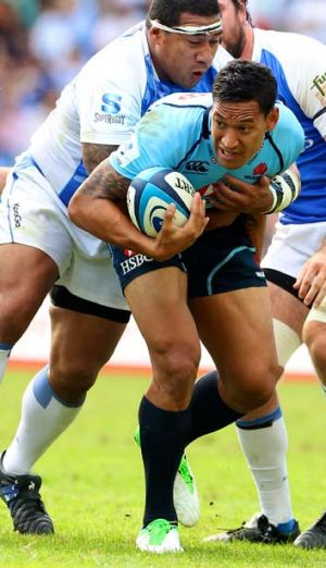 """""""We couldn't get the flow that we needed to dominate the ball"""": Waratahs coach Michael Cheika."""