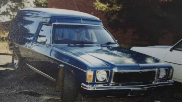 A picture of a car similar to the one police believe was involved in a hit and run in 1987.