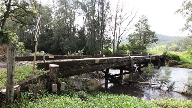 A bridge near Kyogle in the north coast region.