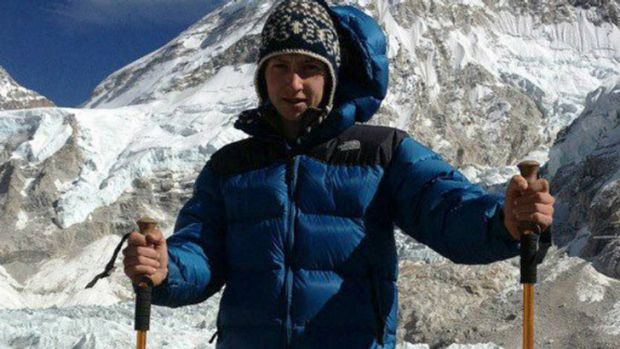 Stewart Wilson had recently been on a trip to Nepal.