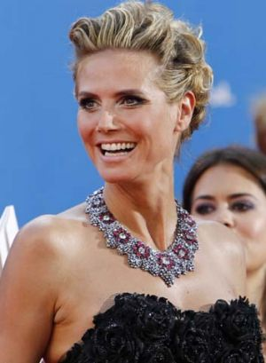 """As a mother, I was very scared"" ... Heidi Klum after saving her son."