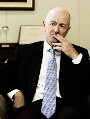 RBA governor Glenn Stevens: 'Prudent to leave the cash rate unchanged.'