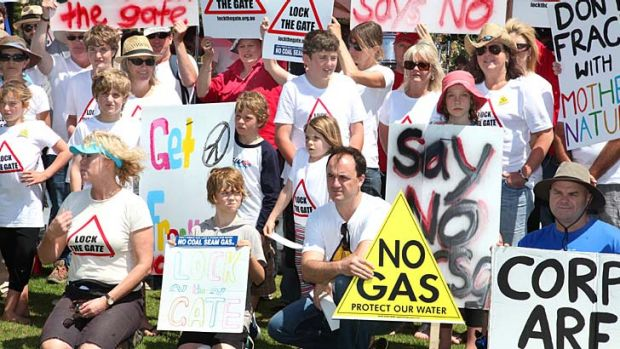 Setback for O'Farrell: Three-quarters of NSW voters are opposed to coal seam gas exploration.