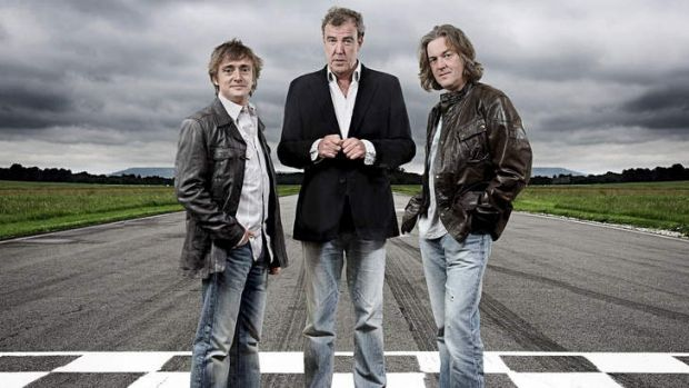 Speed demons: The lads from <i>Top Gear</i> were named in a Dutch prank.
