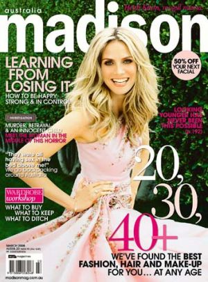 <i>Madison</i> magazine's March 2008 issue.