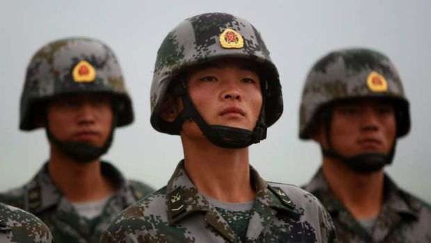 The US has noticed a warming of relations with China's People's Liberation Army.