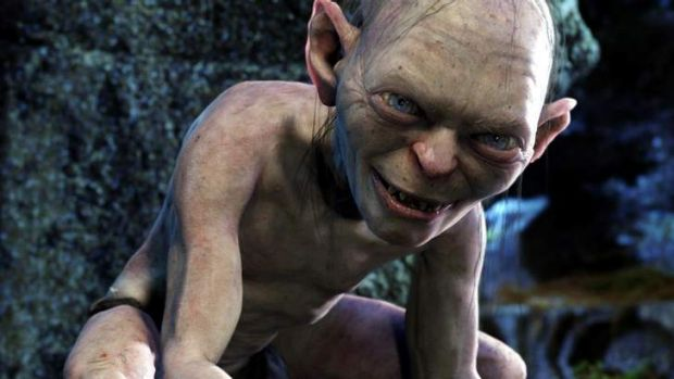 Unnatural life came to JRR Tolkien's character of Gollum through the One Ring.