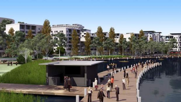 The ACT government is opening an exhibition space in Civic where Canberrans can view blueprints for the City-to-the-lake ...