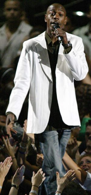 Dave Chappelle performs at the 2004 MTV Video Music Awards.