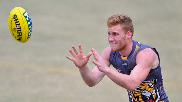 Damien Hardwick did not rule out No. 9 pick Nick Vlastuin playing his first game against St Kilda on Friday night.
