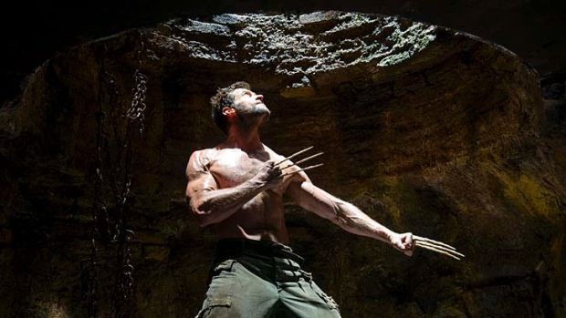 Status quo: Hugh Jackman in <em>The Wolverine</em>. The film has reaffirmed Australia's reputation as one of the top ...