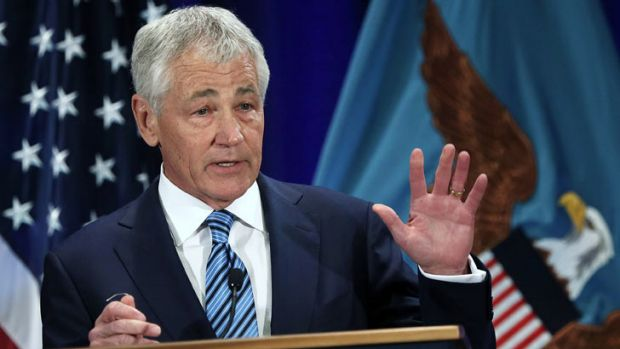 US Secretary of Defence Chuck Hagel ... he spoke on the strategic and fiscal challenges facing the US Department of Defence.