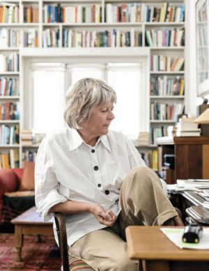 """""""Everything appeared to me as strange"""" … writer Drusilla Modjeska at home in Sydney."""