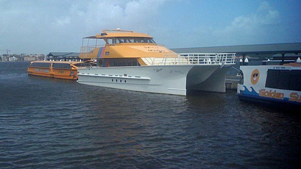 Golden Sun Cruises operator Bill Edgar says he can no longer pay a captain to drive his boat.