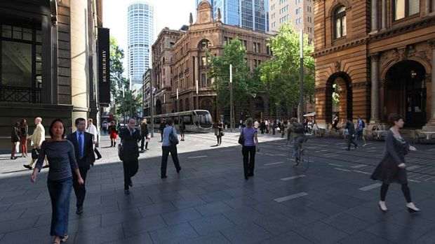 George Street transformed ... the City of Sydney has grand plans.