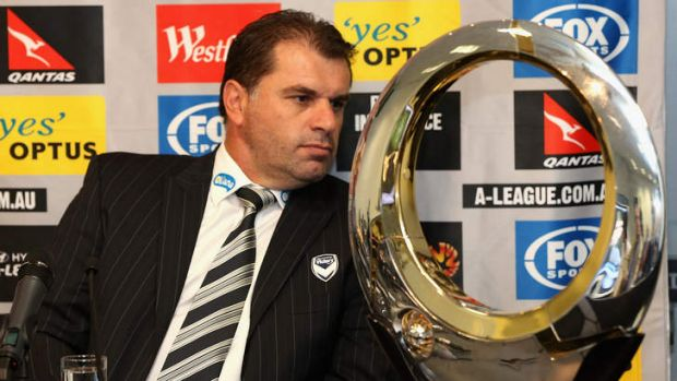 Eyes on the prize: Ange Postecoglou believes his side has what it takes to lift the A-League championship trophy.