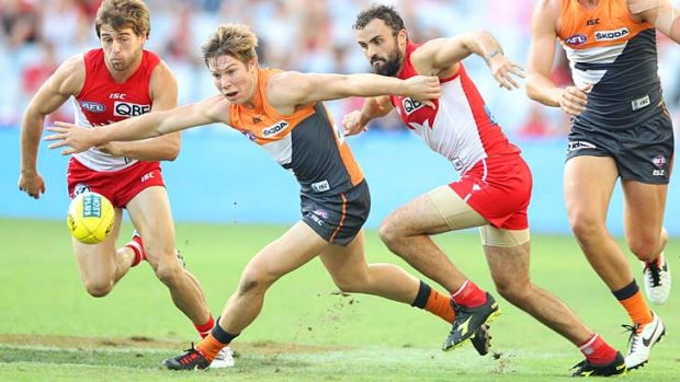 Big shoes to fill: Toby Greene.