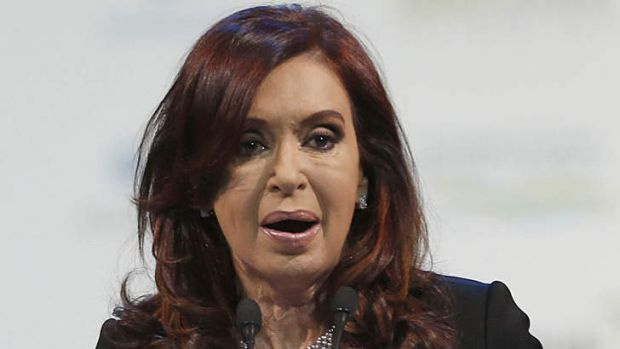 """Cristina Kirchner ... accused of being worse than her """"cross-eyed"""" husband."""