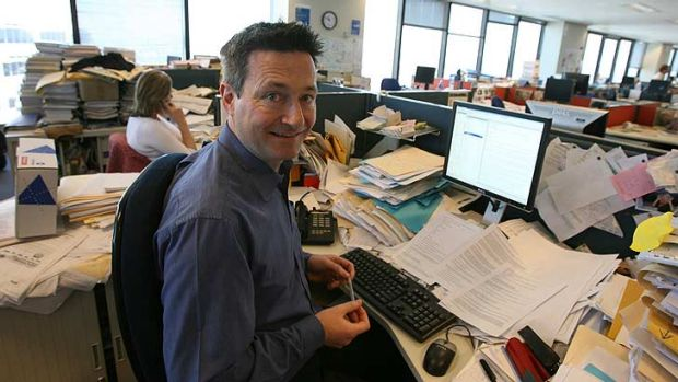 The International Consortium of Investigative Journalists' Gerard Ryle ... when he was at The Sydney Morning Herald.