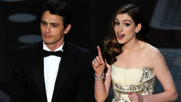 Not a winning moment for James Franco ... and <i>Girls</i> creator Lena Dunham knows it.