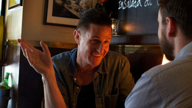 Wil Anderson is happy performing his stand-up show to the US markets.