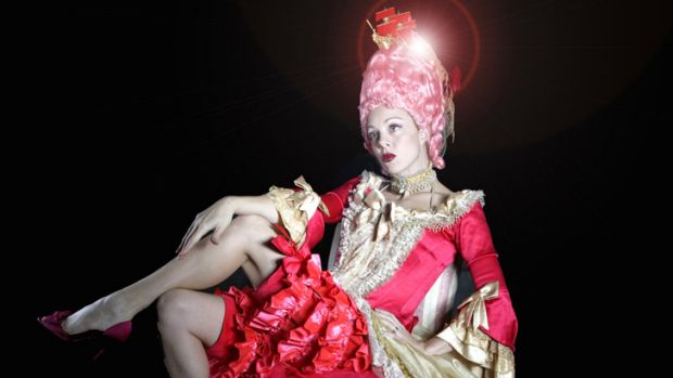 """Burlesque queen Imogen Kelly performs """"Herstory"""" at the Judith Wright Centre on April 5/6."""