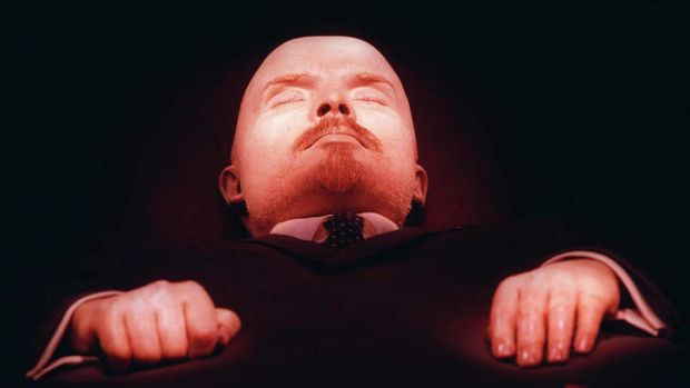 John Gray's nemesis, Lenin, is looking younger than he has in years.