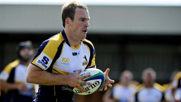 After breaking his back five months ago, Pat McCabe makes his return to Super Rugby with the Brumbies.