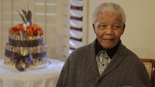 Welcome news: Former South African President Nelson Mandela's health is improving.
