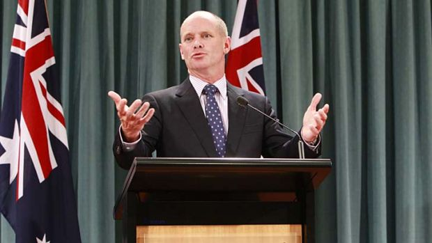 Appetite for reform: Campbell Newman.