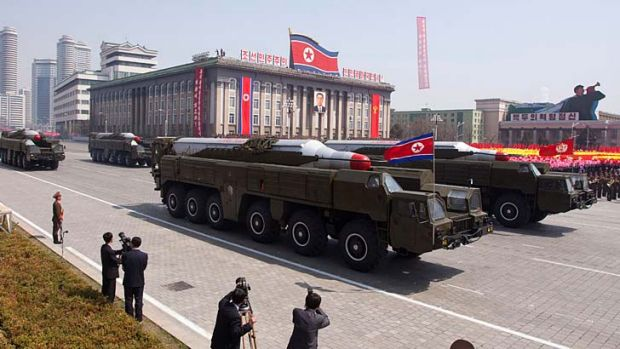 Show of strength: It is only a matter of time before North Korea's missiles go nuclear.