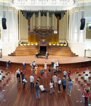 "The refurbishment of Brisbane City Hall cost $215 million, which Lord Mayor Graham Quirk said was ""absolutely"" worth ..."