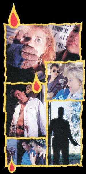 One of the promotional images on the Houseboat Horror DVD.