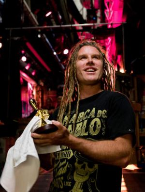 Stage man Jake Nicolaisen has been involved in setting up the Logie Awards for 14 years.
