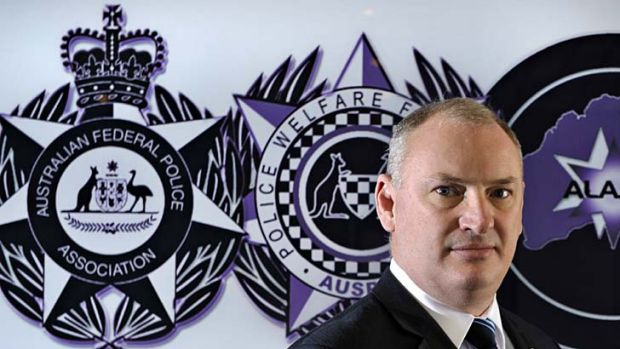 'Corruption puts at risk the safety ... of our members.': Federal Police Association National President Jon Hunt-Sharman.