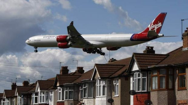 Virgin flights to London are making up for other weaker routes.