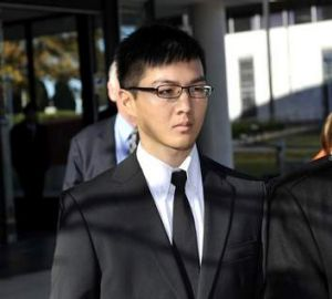 Yong Chuean Benedict Ang outside the ACT Magistrates Court in May 2012.