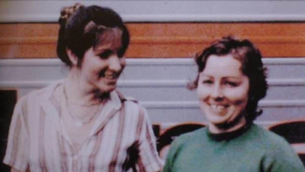 Lorraine Ruth Wilson (left) and Wendy Joy Evans photographed one month before they went missing.