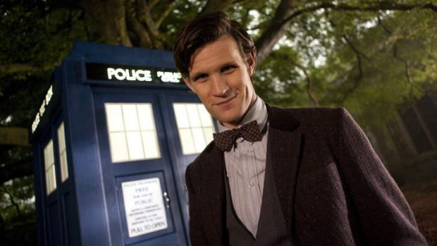 Too available ... Doctor Who, played by Matt Smith, should be more like Sherlock Holmes, according to original series ...