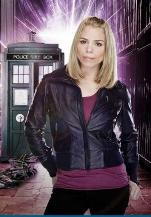 Billie Piper played Rose in an earlier series of <i>Doctor Who</i>.