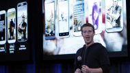 Facebook unveils 'home' Android product (Video Thumbnail)
