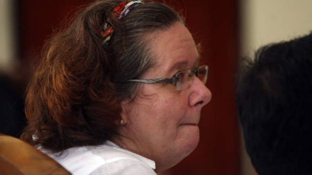 Lindsay Sandiford during her trial in January.