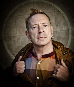 """What I do is poetry in motion"": Former Sex Pistols frontman John Lydon now performs with PiL."